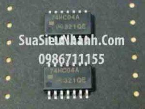 Tên hàng: 74HC04A TC74HC04AF IC Logic số;  Kiểu chân: dán SOP-14 (5.2mm);  Mã: 74HC04A