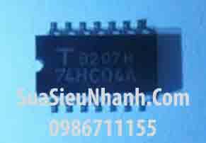 Tên hàng: 74HC04A TC74HC04AF SOP14 5.2mm IC Logic số;  Mã: 74HC04A;  Kiểu chân: dán SOP-14 (5.2mm)