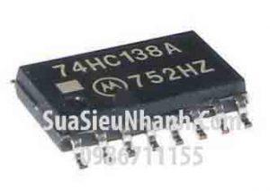 Tên hàng: TC74HC138AF 74HC138A SOP16 5.2mm IC số DECODER/DEMUX 3-8 LINE;  Mã: 74HC138A;  Kiểu chân: dán SOP-16 5.2mm;  Thương hiệu: TOSHIBA;  Phân nhóm: IC Số>DECODER/DEMUX