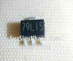 Tên hàng: 79L15 7915 SOT89 IC ổn áp nguồn -15V;  Mã: 79L15_SOT89;  Kiểu chân: dán SOT-89;  Thương hiêu: ST;  Phân nhóm: IC ổn áp 79XX