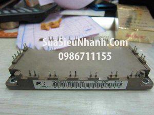 Tên hàng: 7MBR100SD060-50 IGBT 100A 600V (TM);  Mã: 7MBR100SD060-50  Thương hiệu: Fuji;  Xuất xứ: Tháo máy;  Dùng cho: vật tư biến tần;  Mã kho: 7MBR100SD060-50_008