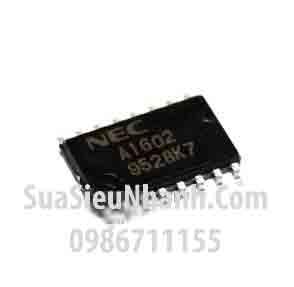 Tên hàng: A1602 uPA1602 UPA1602GS IC DRIVER 7 MOSFET ARRAY; Kiểu chân: SOP-16
