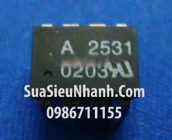 Tên hàng: A2531 HP2531 HCPL-2531 ACPL-2531 Photo-IC optocoupler; Mã: A2531_DIP-8; Hãng sx: AVAGO; Kiểu chân: cắm DIP-8; Mã kho: A2531_DIP-8_906