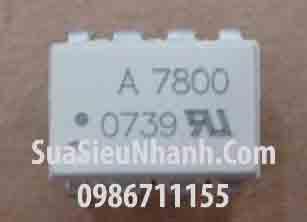 Tên hàng: A7800, HP7800, HCPL-7800 SOP8 Photocoupler opto cách ly quang; Mã: A7800_SOP8; Kiểu chân: dán SOP-8; Hàng tương đương: A7800, A7800A, HCPL-7800; HCPL7800 SOP8 Photocoupler opto cách ly quang; Mã kho: A7800_SOP8_906