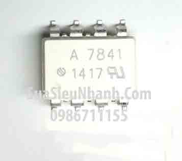 Tên hàng: A7841 HCPL7841 HCPL-7841 Photocoupler; Mã: A7841_SOP8; Kiểu chân: dán SOP-8; Hãng sx: AVAGO