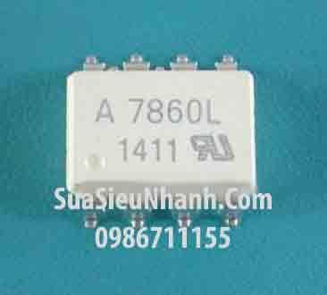 Tên hàng: A7860L HCPL7860L HCPL-7860L Photocoupler; Mã: A7860L_SOP8; Kiểu chân: dán SOP-8; Hãng sx: AVAGO; Dùng cho: Vật tư biến tần, vật tư servo driver