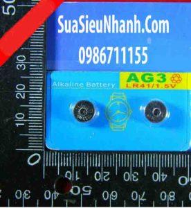 Tên hàng: Pin nút 1.5V AG3 (192 LR41 392A) pin nút nút thanh toán bù trừ điện tử