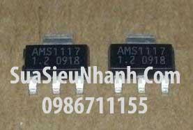 Tên hàng:AMS1117-1.2 IC Nguồn ổn áp 1.2V; Kiểu chân: dán SOT223