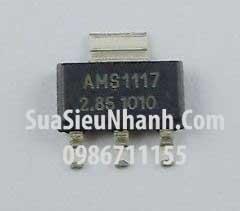 Tên hàng: AMS1117-2.85 IC Nguồn ổn áp 2.85V; Kiểu chân: dán SOT223