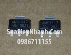 Tên hàng:AMS1117-ADJ IC Nguồn ổn áp ADJ; Kiểu chân: dán SOT223
