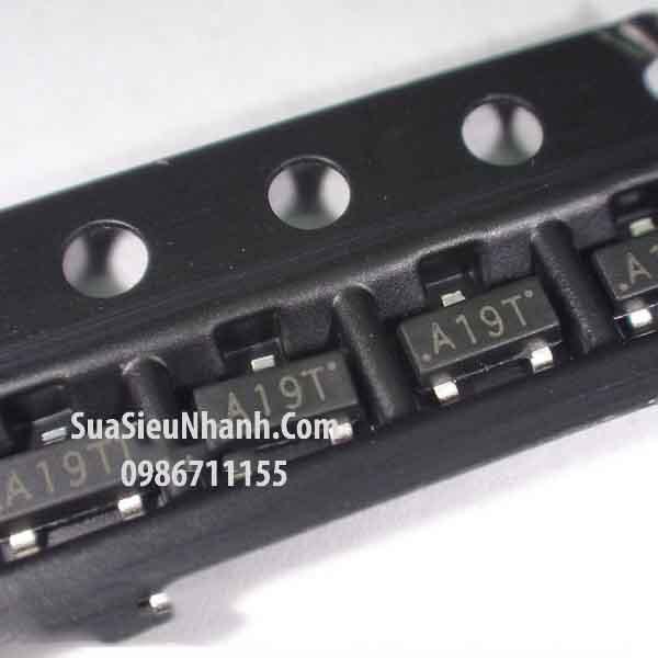 Tên hàng: AO3401 A19T SOT23 P MOSFET 4A 30V; Mã: AO3401_A19T; Kiểu chân: dán 3 chân SOT-23