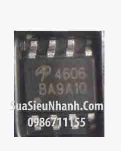 Tên hàng: AO4606 4606 SOP8 P&N Dual MOSFET 6.5A 30V;  Mã: AO4606;  Kiểu chân: dán SOP-8;