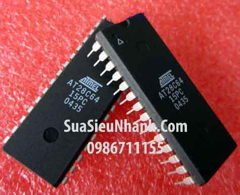 Tên hàng: AT28C64-15PC AT28C64B DIP28 IC EEPROM 64KBIT 150NS; Mã: AT28C64-15PC; Kiểu chân: cắm DỊP-28; Thương hiệu: ATMEL; Xuất xứ: chính hãng; Dùng cho: vậy từ máy máy; Phân nhóm: IC ROM-RAM; Mã kho: AT28C64-15PC_720