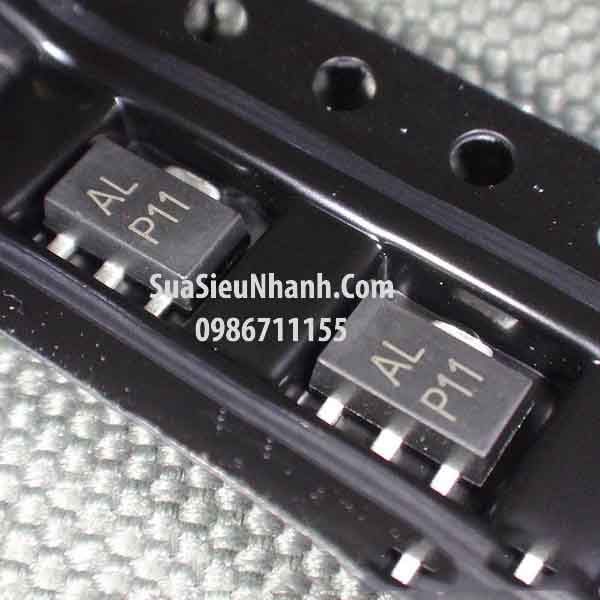 Tên hàng: BCX53-16 AL SOT89 PNP transistor 1A 80V; Mã: BCX53-16_BL; Kiểu chân: dán 3 chân SOT-89