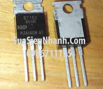 Tên hàng: BT152-800R TO220 Thyristor 20A 800V; Mã: BT152-800R; Kiểu chân: cắm 3 chân TO-220; Thương hiệu: NXP; Phân nhóm: Thyristor; Mã kho: BT152-800R-010; Hàng tương đương: BT152-600R