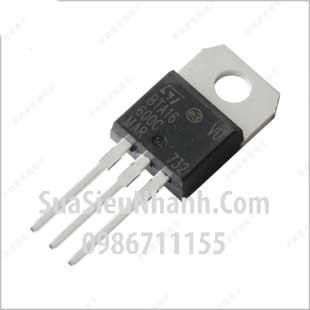 Tên hàng: BTA16-800B BTA16 TO220 TRIAC 16A 800V; Mã: BTA16-800B; Kiểu chân: cắm TO-220; Thương hiệu: NXP; Hàng tương đương: BTA16-600A, BTA16-600B, BTA16-600C; Phân nhóm: TRIAC