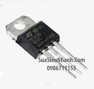 Tên hàng: BTB06-600C BTB06 TO220 TRIAC 6A 600V;  Mã: BTB06-600C;  Kiểu chân: cắm TO-220;  Thương hiệu: NXP;  Hàng tương đương: BTA06-600A, BTA06-600B;  Phân nhóm: TRIAC