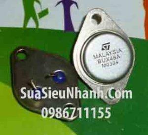 Tên hàng: BUX48A NPN Transistor 15A 1000V;  kiểu chân: TO-3;  Hãng sx: ST;  Mã: BUX48A_ST;  Dùng cho: vật tư máy hàn