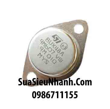 Tên hàng: BUX48A TO3 NPN Transistor 15A 1000V; Mã: BUX48A_ST; kiểu chân: TO-3; Thương hiệu: ST; Dùng cho: vật tư máy hàn; Mã kho: BUX48A_nic; Phân nhóm: NPN Transistor