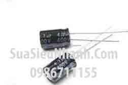 Tên hàng: Tụ hóa 4.7uF 400V 4.7uF;  Mã: CAPP4.7uF400V