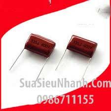 Tên hàng: Tụ kẹo CBB22 335J400V 3.3uF 400V 25mm;  Mã: CBB22-355J400V25mm