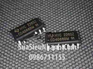 Tên hàng: CD4066BM SOP14 3.9mm IC chuyển kênh tương tự;  Mã: CD4066BM;  Kiểu chân: dán SOP14 3.9mm;  Thương hiệu: TOSHIBA;  Hàng tương đương: TC74HC4066AFT, 74HC4066 ,74HC4066A ,74HC4066PWR, HC4066;  Phân nhóm: IC họ CD