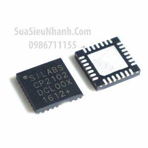 Tên hàng: CP2102-GMR CP2102 QFN28 IC giao tiếp SINGLE-CHIP USB TO UART BRIDGE;  Mã: CP2102-GMR;  Kiểu chân: dán QFN-28;  Thương hiệu: Silicon Laboratories;  Phân nhóm: IC giao tiếp