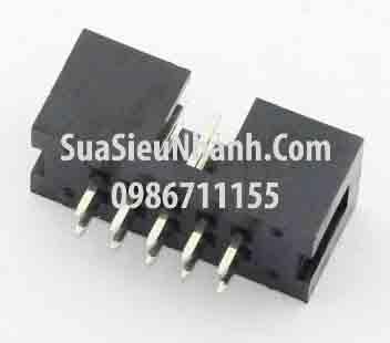 Tên hàng: DC3-10P IDE10P Box header 20x2p 2.54mm đực thẳng; Mã: DC3-10P_S; Hàng tương đương: IDE 10; Mã: DC3-10P_S_qew