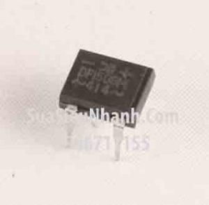 Tên hàng: DF1508M DF1508 DIP4 Diode chỉnh lưu cầu 1.5A 800V chân cắm vuông 7.4x5mm;  Mã: DF1508M;  Kiểu chân: cắm vuông DIP-4;  Hàng tương đương: DF15001M, DF1505M, DF1510M;  Phân nhóm: Diode cầu