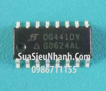Tên hàng: DG441DY IC chuyển kênh tương tự; Kiểu chân: dán SOP-16; Mã: DG441DY