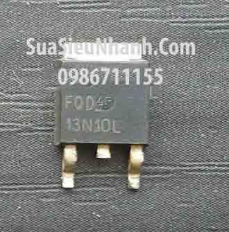 Tên hàng: FQD13N10L 13N10 TO252 N MOSFET 13A 100V; Mã: FQD13N10L; Kiểu chân: dán TO-252; Phân nhóm: N MOSFET
