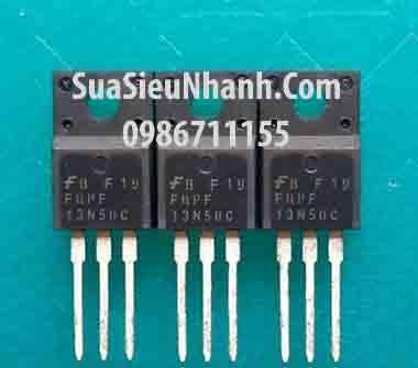 Tên hàng: FQPF13N50 HX13N50C 13N50 TO220 N MOSFET 13A 500V; Mã: FQPF13N50C; Kiểu chân: cắm đứng 3 chân TO-220; Thương hiệu: TOSHIBA; Phân nhóm: N MOSFET