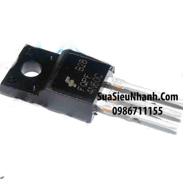 Tên hàng: FQPF4N60C; Mã: FQPF4N60C; Kiểu chân: cắm TO-220F; Thương hiệu: TOSHIBA; Hàng tương đương: FQPF4N60B, 4N60B FQPF4N60C, 4N60C; Phân nhóm: N MOSFET