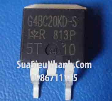 Tên hàng: G4BC20KD-S, IRG4BC20KD-S IGBT 15A 600V; Kiểu chân: dán D2Pak; Hãng sx: IR; Mã: G4BC20KD-S; Tag: This part replaces the IRGBC20KD2-S and IRGBC20MD2-S products