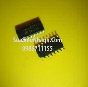 Tên hàng: HCF4051BM SOP16 3.9mm IC số;  Mã: HCF4051BM;  Kiểu chân: dán SOP-16;  Thương hiệu: ST;  Phân nhóm: IC số ->Họ CD, HCF