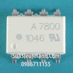 Tên hàng: A7800, HCPL-7800 Photocoupler opto cách ly quang;  Kiểu chân: dán SOP-8;  Mã: HCPL-7800;  Dùng cho: Vật tư biến tần, vật tư servo driver