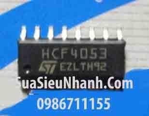 Tên hàng: HEF4053 SOP16 IC số; Mã: HEF4053; Kiểu chân: dán SOP-16; Thương hiệu: ST; Hàng tương đương: HEF4053 CD4053