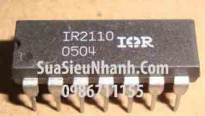 Tên hàng: IR2110 DIP14 IC DRIVER, Half-Bridge Driver;  Mã: IR2110;  Kiểu chân: cắm DIP-16;  Thương hiệu: IR;  Xuất xứ: chính hãng