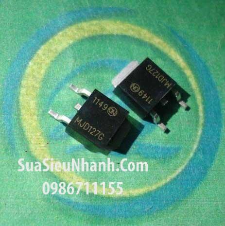 Tên hàng: MJD127G MJD127T4G MJD127 TIP127 J127G SOT252 PNP Transistor Darlington 8A 100V 20W; Mã: J127G; Kiểu chân: dán SOT-252; Thương hiệu: ON; Dùng cho: vật tư PLC; Phân nhóm: PNP Transistor;