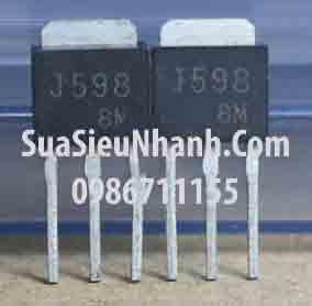 Tên hàng: J598 2SJ598 P MOSFET 12A 60V; Kiểu chân: cắm TO-251; Dùng cho: Vật tư máy dệt