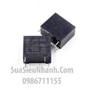 Tên hàng: JZC-32F-005-HS Rơ le 5V 10A 4 chân L18.4xW10.2xH15.3mm; Mã: JZC-32F-005-HS3; Thương hiệu: HF; Xuất xứ: chính hãng; Dùng cho: vật tư điều hòa; hàng tương đương: relay 5V HF32F-5V-HS; Phân nhóm: Rơ le-Relay