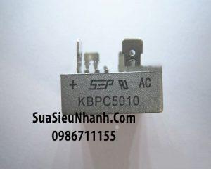 Tên hàng: KBPC5010 Cầu chỉnh lưu 50A/1000V;  Tag: cầu đi ốt 50A/1000V, cầu diode 50A/1000V, chỉnh lưu cầu 50A/1000V