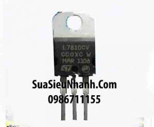 Tên hàng:L7810CV KA7810 LM7810 TO220 IC nguồn ổn áp 10V 1.5A;  Mã: L7810CV;  Kiểu chân: cắm TO-220;  Thương hiệu: ST;  Phân nhóm: IC nguồn;  Mã kho: L7810CV_088