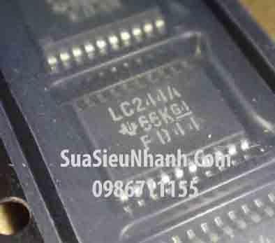 Tên hàng: SN74LVC244APWR LC244A TSSOP20 5.72mm IC Driver Octal buffer/line driver 3-state; Mã: LC244A_TSSOP20; Kiểu chân: dán TSSOP20 5.72mm; Thương hiệu: TI; Hàng tương đương: VHCT244A, TC74VHCT244AFT, 74HC244PW, 74HC244, HC244, SN74LVC244APWR ,LC244A; Phân nhóm: IC họ 74