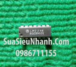 Tên hàng:  LM224N LM224 DIP14 IC thuật toán OPAMP GP 1.2MHZ;  Mã: LM224N;  Kiểu chân: cắm DIP-14;  Thương hiệu: Motorola;  Xuất xứ: chính hãng;  Phân nhóm: IC thuật toán