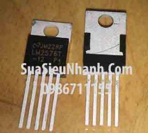 Tên hàng: LM2576T-12 TO220-5 IC nguồn switching 12V;  Mã: LM2576T-12;  Kiểu chân: cắm TO-220-5;  Thương hiệu: National;  Mã kho: LM2576T-12_010