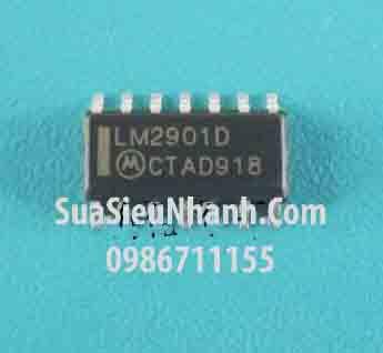 Tên hàng: LM2901D SOP14 3.9mm IC thuật toán; Mã: LM2901D; Kiểu chân: dán 14 chân SOP-14 3.9mm; Dùng cho: vật tư biến tần; Phân nhóm: IC thuật toán; Mã kho: LM2901D_-ic