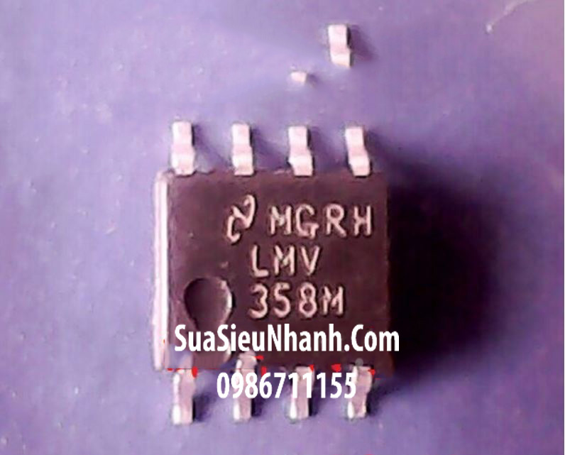 Tên hàng: LMV358M LMV358 SOP8 IC thuật toán Dual Low-Voltage Rail-to-Rail Output Operational Amplifier; Mã: LMV358M; Kiểu chân: 8 chân dán SOP-8; Thương hiệu: National; Hàng tương đương: LM358; Phân nhóm: IC thuật toán;