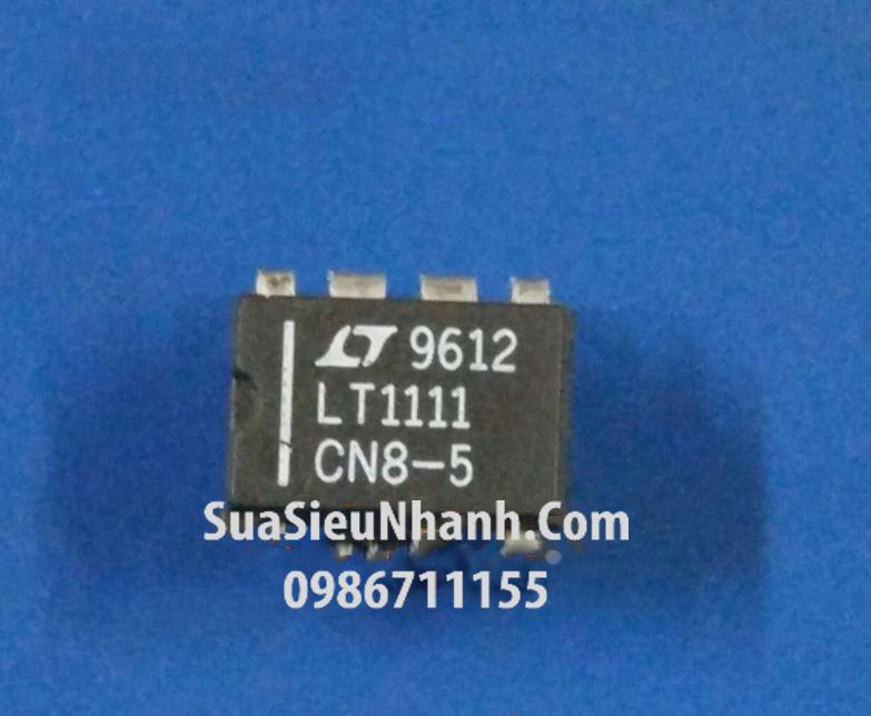 Tên hàng: LT1111CN8 LT1111 DIP8 IC nguồn tăng giảm áp Micropower DC/DC Converter Adjustable and Fixed 5V, 12V; Mã: LT1111CN8; Kiểu chân: cắm DIP-8; Thương hiệu: Linear; Xuất xứ: chính hãng; Phân nhóm: IC nguồn DC-DC; Mã kho: LT1111CN8_123