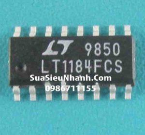 Tên hàng: LT1184CS SOP16 3.9mm IC nguồn CCFL/LCD Contrast Switching Regulators;  Mã: LT1184CS;  Kiểu chân: 16 chân dán SOP-16;  Thương hiệu: Linear;  Xuất xứ: chính hãng;  Hàng tương đương: LT1184FCS, LT1182CS, LT1183CS;  Dùng cho: vật tư màn hình LCD;  Phân nhóm: IC nguồn;